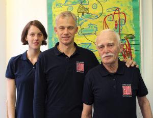 von links nach rechts: Katrin Lang, Frank Lang, Fritz Lang